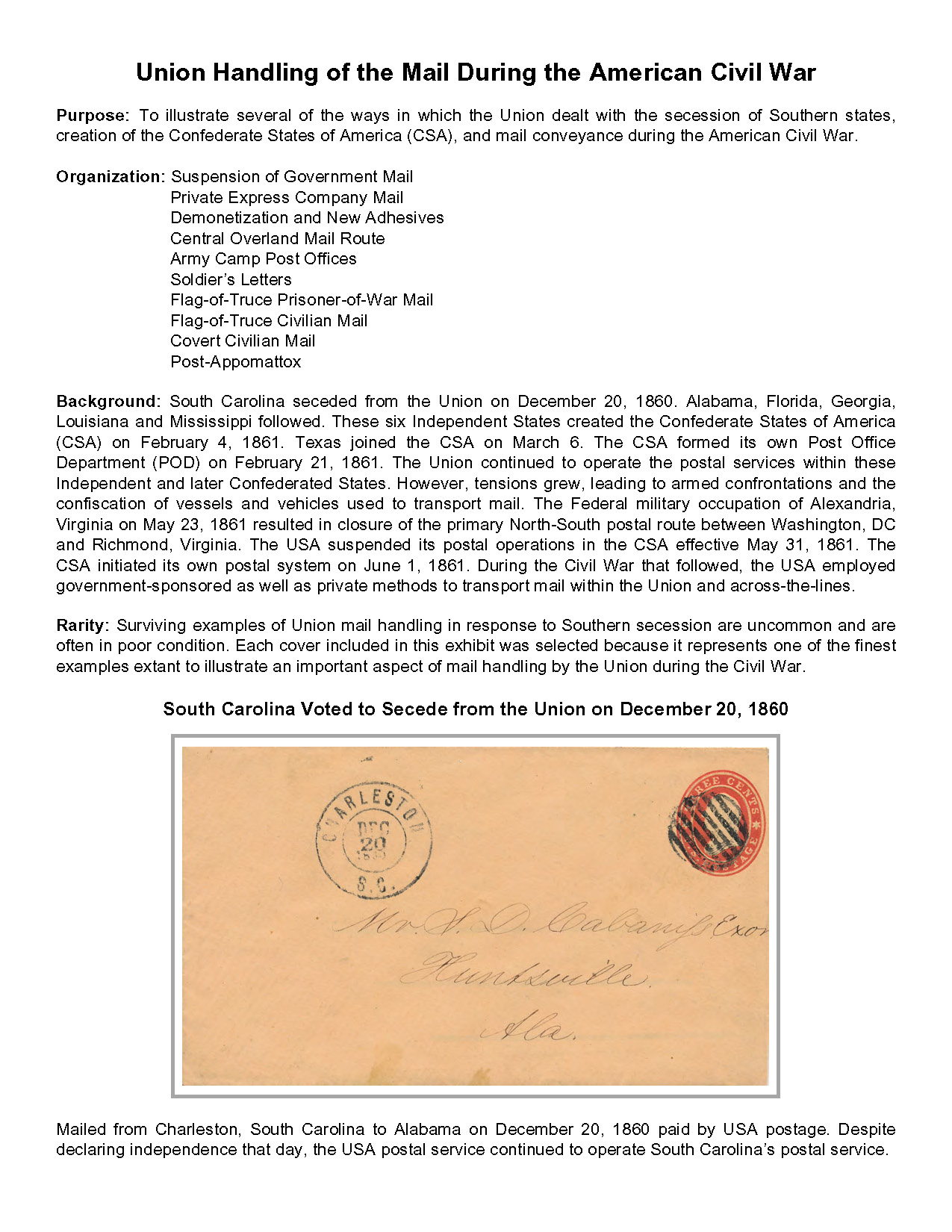 Suspension letter mailed