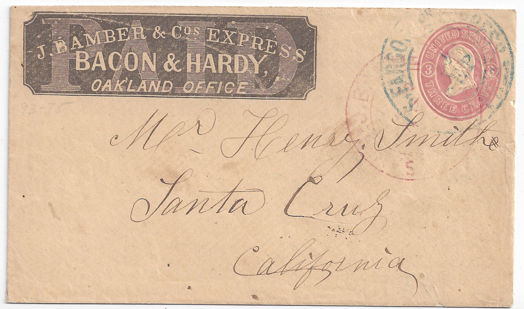 Whitington Collection of Western Express Covers